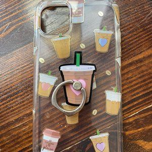 iPhone 11 Velvet Caviar Coffee Phone Case & Grip